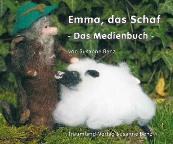 Titelseite des Emma, das Schaf Medienbuches