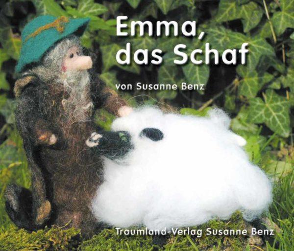 Titelseite des Emma, das Schaf Buches