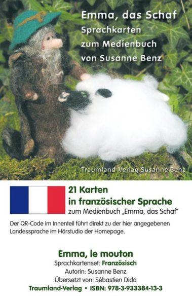 Vorderseite des Sprachkartensets französisch