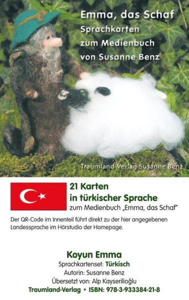 Vorderseite des Sprachkartensets türkisch