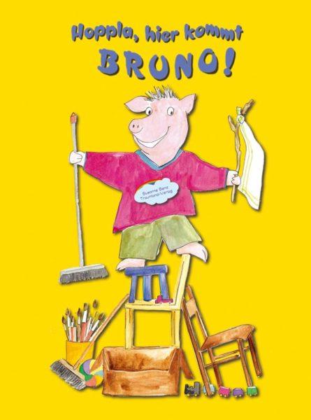 Titelseite des Buches Hoppla, hier kommt Bruno