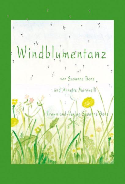 Titelseite des Buches Windblumentanz